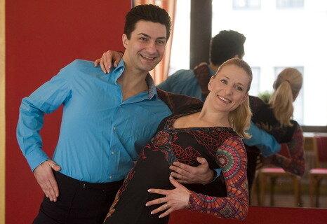 Fotogalerie let s dance 2012 stefanie hertel tanzt mit sergiy plyuta