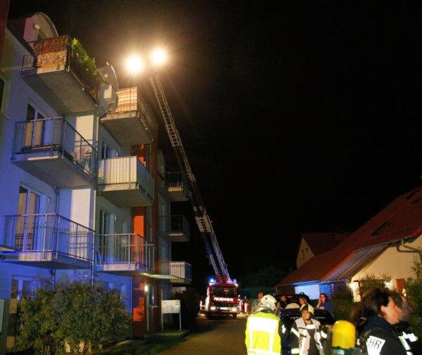 50 personen nach wohnungsbrand in frankenberg evakuiert freie presse. Black Bedroom Furniture Sets. Home Design Ideas