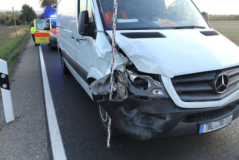 Tödlicher Unfall bei Oederan: Radfahrerin von Transporter erfasst ...
