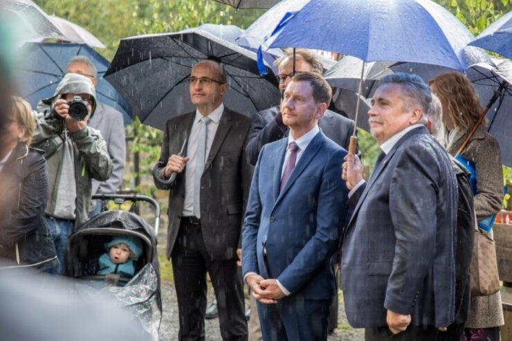 Morddrohung gegen Kretschmer in Oberwiesenthal: Gericht erlässt Strafbefehl