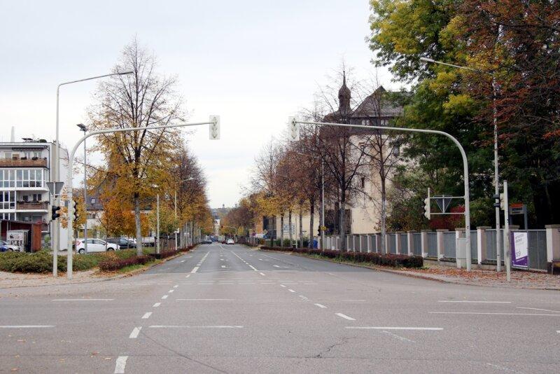 Wichtige Straße in Zwickau ab Mittwoch dicht