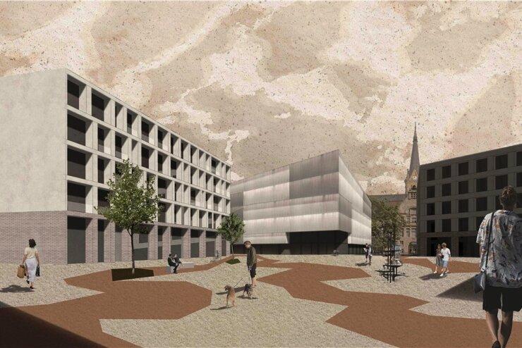 Entwürfe für Chemnitzer Kulturquartier: Wie reagiert die Stadt darauf?