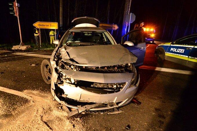 Erneut schwerer Unfall an der Räuberschänke | Freie Presse - Flöha