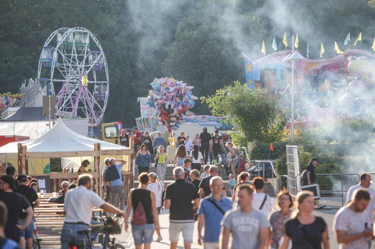 """10.000 Besucher starten den Chemnitzer """"Herzschlag"""""""