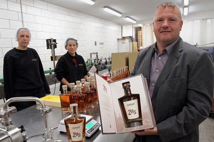 Auf ersten Erzgebirgs-Whiskey folgt erster Weinbrand