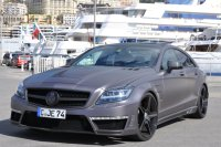 "in Chemnitz getunter GSC Mercedes-Benz CLS 63 AMG ""Stealth"""